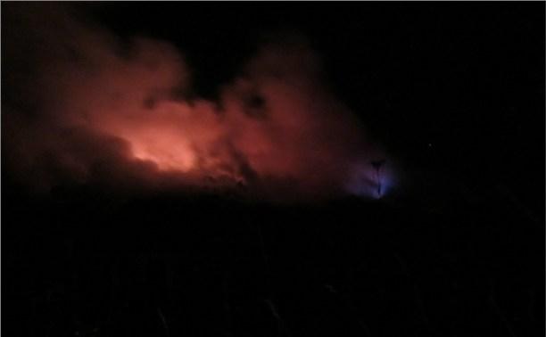 В Заокском районе из-за пожара в даче погиб человек