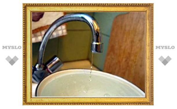 8 ноября в некоторых домах Тулы не будет воды