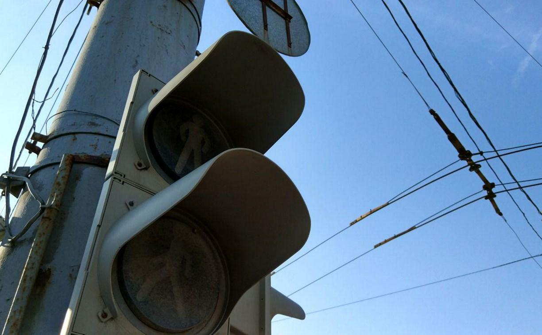 В Туле не работают несколько светофоров