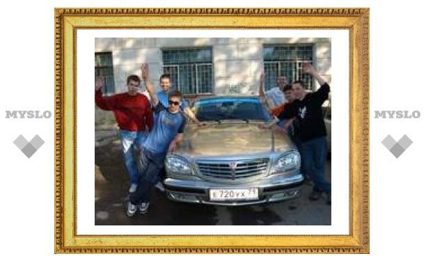 В Туле стартовал студенческий автопробег