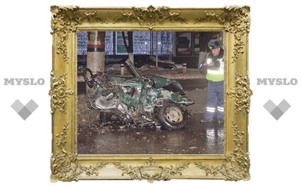 Туляк чудом выжил в разорванном авто!