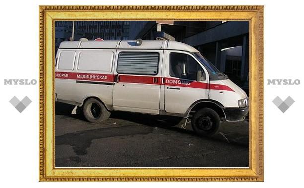 В субботу вечером в Ефремове в результате аварии погиб мужчина