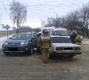 В Новомосковске столкнулись Toyota и «семёрка»
