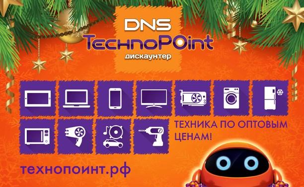DNS TechnoPoint поздравляет туляков с наступающим Новым годом
