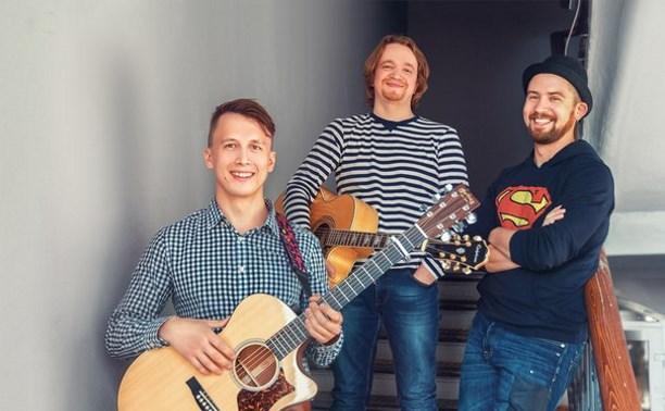 Тульская группа «Счастье внутри» участвует в конкурсе патриотической песни