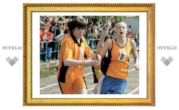 Тульские детдомовцы готовятся к соревнованиям