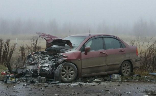 Под Щёкино в ДТП с маршруткой пострадали пять человек