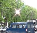 На Первомайской загорелся троллейбус