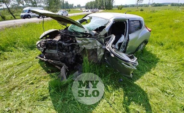 В Тульской области за 5 месяцев случилось более 100 ДТП с выездом на встречку