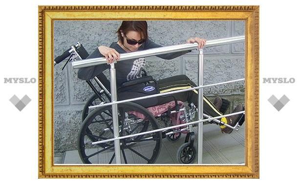 Для тульских инвалидов создадут комфортные условия передвижения