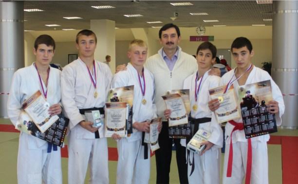 Туляки завоевали комплект медалей на турнире по рукопашному бою