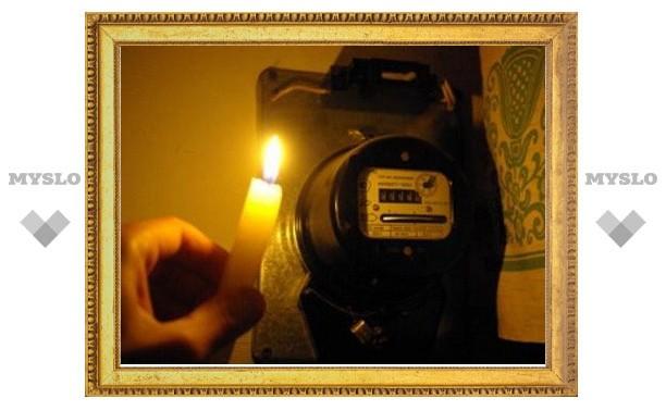 В Туле Зеленстрой остался без электричества