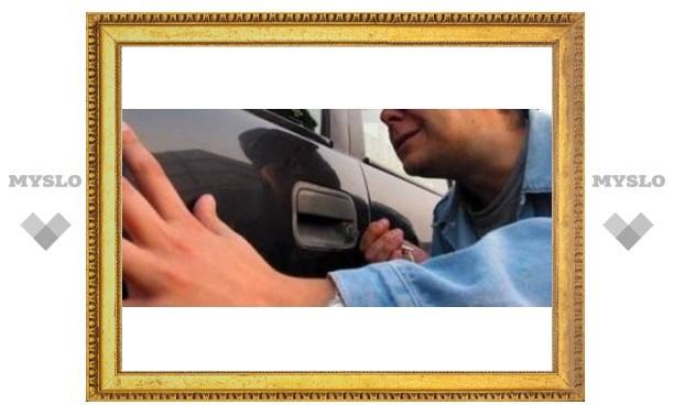 В Туле орудуют потрошители машин