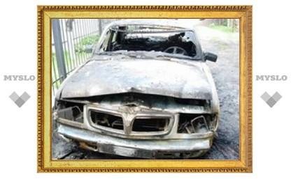 Под Тулой орудует банда поджигателей машин