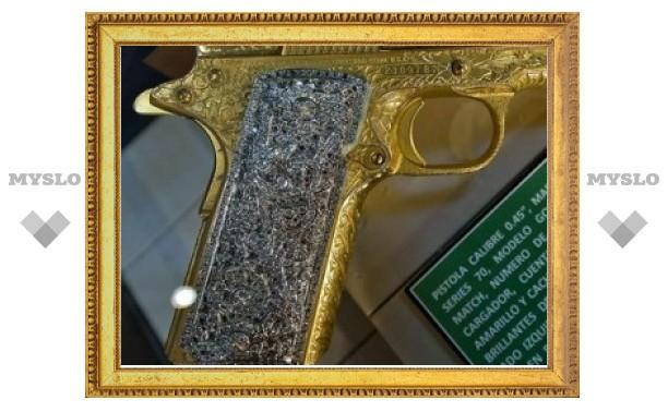 Изъятые под Тулой пистолеты с драгоценностями и золотом признаны боевыми