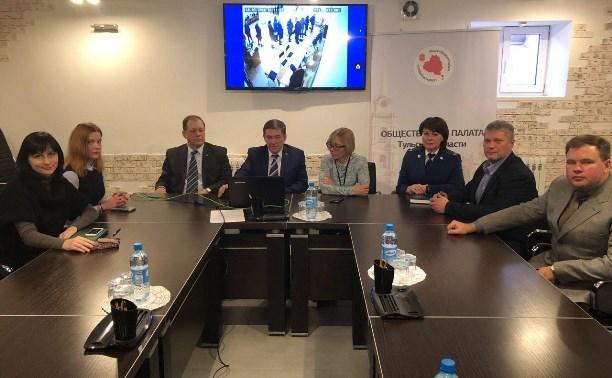 Наблюдатели на выборах в Тульской области: Нарушений нет