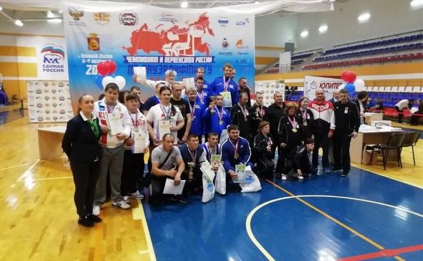 Туляки завоевали полный комплект медалей на чемпионате России по пауэрлифтингу