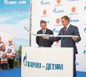 «Газпром» построит на Восточном обводе большой Ледовый дворец