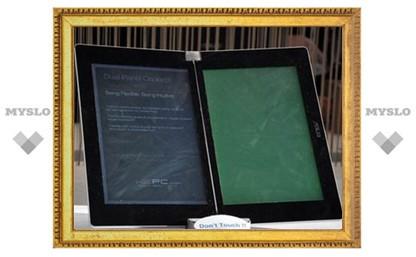 ASUS выпустит электронную книгу с двумя цветными экранами