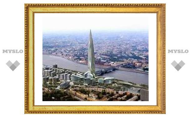 """Архитекторы предложили построить башню """"Газпрома"""" под землей"""