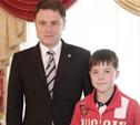 Юные тульские спортсмены встретились с губернатором