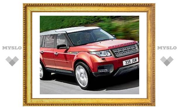 Новый семиместный внедорожник Land Rover появится в 2012 году