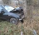 В Донском пьяный водитель врезался в дерево