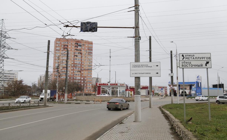 На улице Ложевой в Туле снесут заправку: здесь будет новая развязка