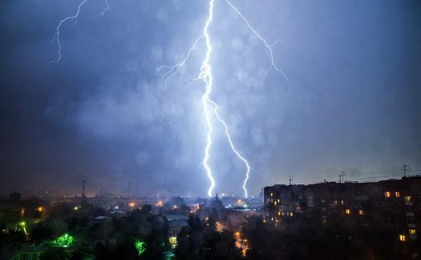 Метеопредупреждение: В Тульской области гроза ожидается уже сегодня