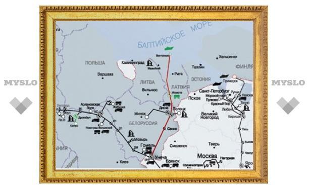 Россия и Белоруссия договорились об открытии перекрытого трубопровода