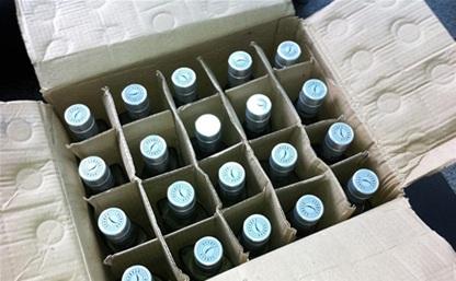 В Туле изъято 2160 бутылок контрафактного алкоголя