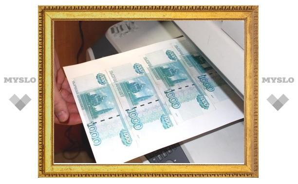В Тульской области задержана группа фальшивомонетчиков