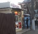 В центре Тулы дом-развалюха превратился в палатку с фастфудом