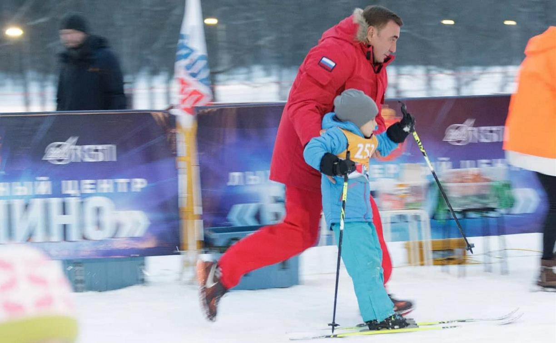 В Ночной лыжной гонке «Веденино» приняли участие более 600 человек