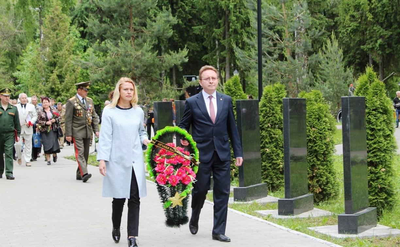 В Урванском лесу почтили память павших воинов-новомосковцев
