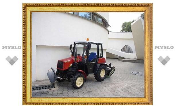 Тулякам покажут бобруйский трактор