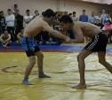 В ТулГУ прошли соревнования по вольной борьбе