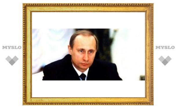 Путина привезут на вертолете