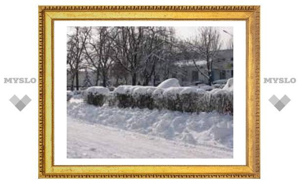 Декабрь продолжает радовать Тулу приятным морозом