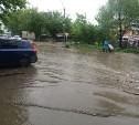Туляки бьют тревогу: лужа на улице Войкова превращается в «море»