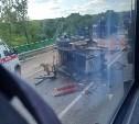 Под Тулой столкнулись два грузовика и трактор