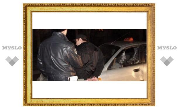 Под Тулой ночью напали на милиционеров