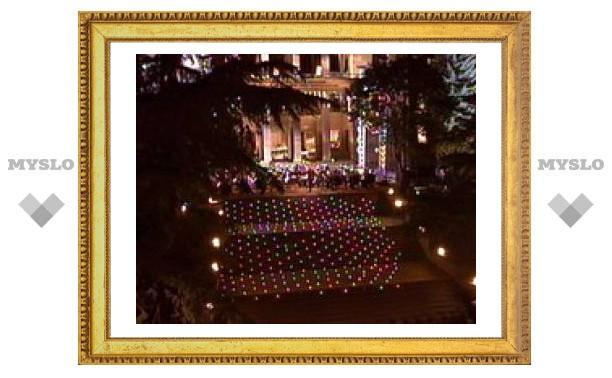 На концерт оркестра Мариинского театра в Цхинвали пришли пять тысяч зрителей