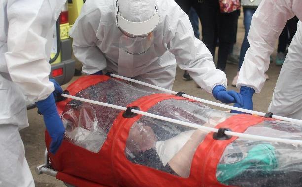 В Тульской области за сутки 120 случаев коронавируса