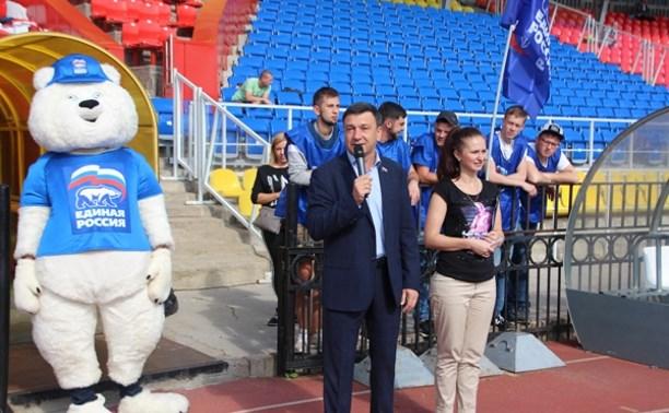 В Туле прошел городской этап проекта «Спортивный марафон»