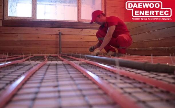 Сделайте свой дом уютным с тёплыми полами Daewoo-Enertec