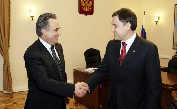 Владимир Груздев обсудил с Виталием Мутко вопросы строительства спортивных объектов в регионе