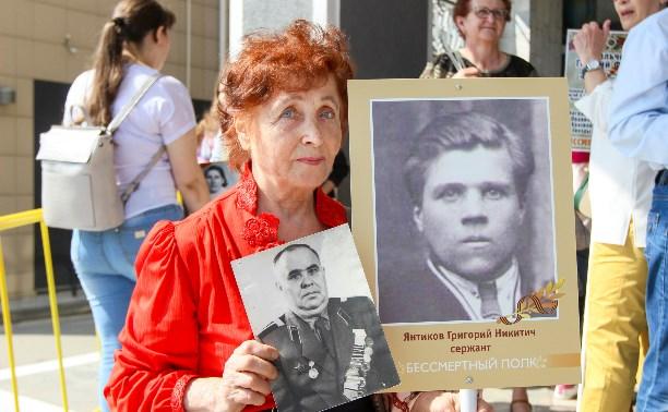 Участники «Бессмертного полка» в Туле: 10 историй о героях войны