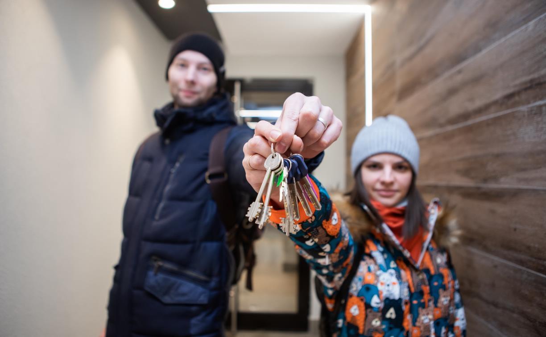 Жители ЖК «Современник» получают ключи от своих квартир