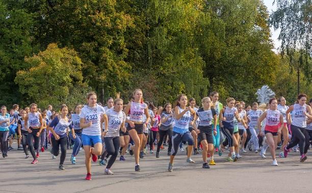 Более 2000 туляков приняли участие в «Кроссе нации – 2015»